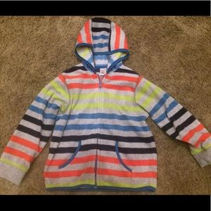 NWOT Gymboree multi-color striped fleece 💕👗🎀